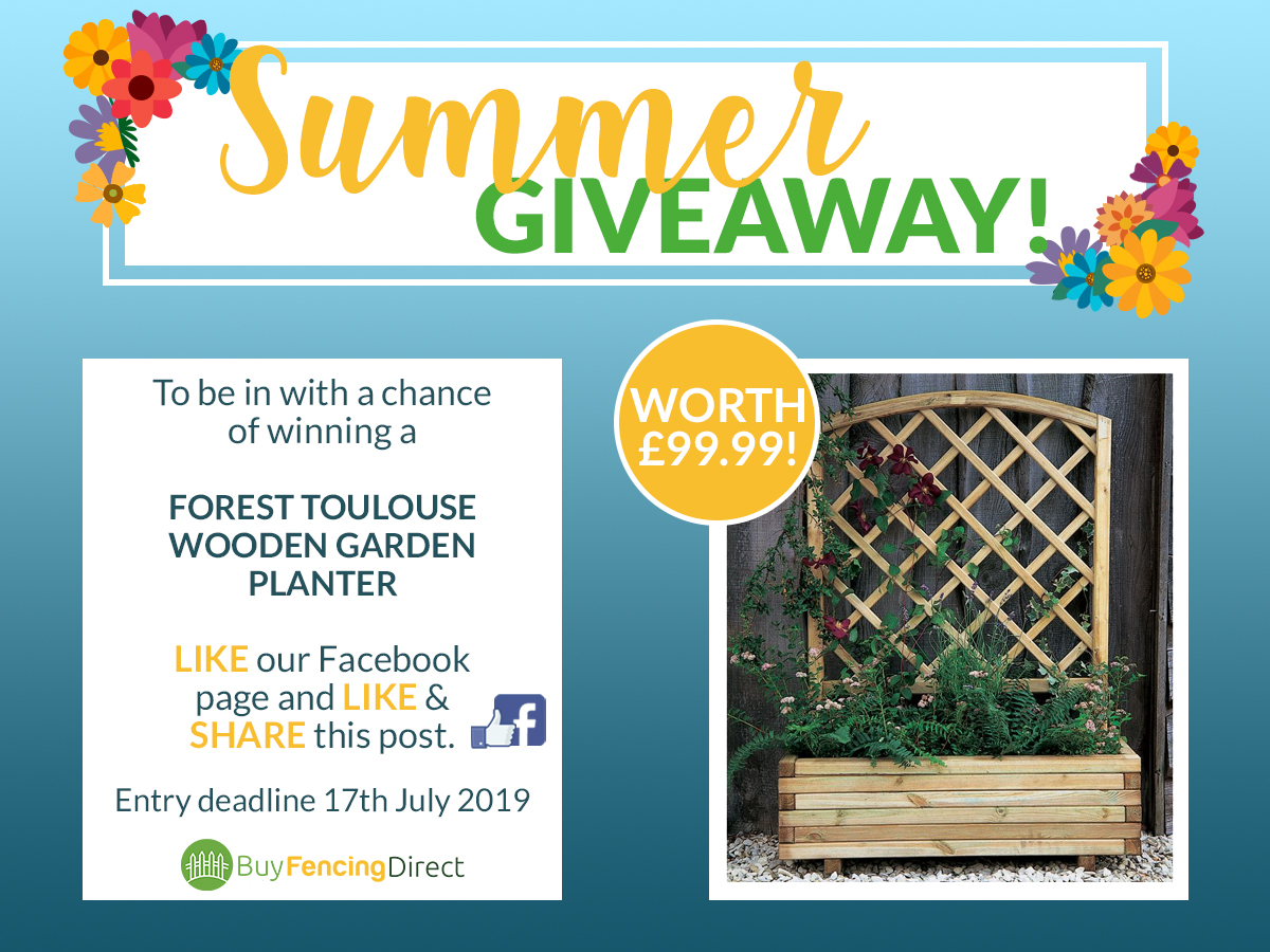 Summer Giveaway Forest Toulouse Wooden Garden Planter
