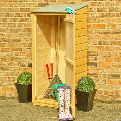 Buy a Tool Shed for a Tidy Garden