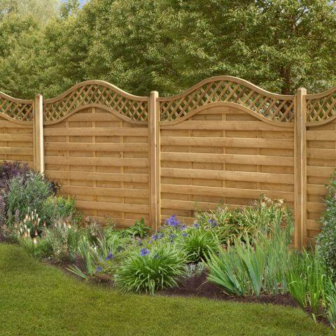 garden fencing panel