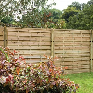 pressure treated fence panel