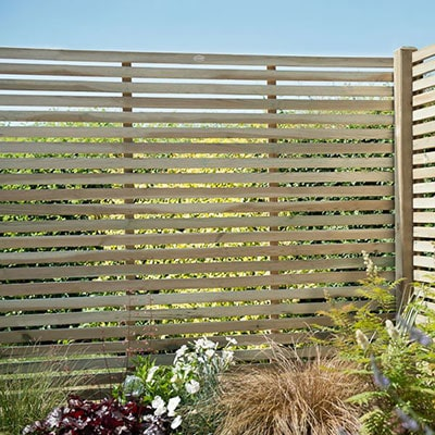 The Slatted Fence Panels Boom
