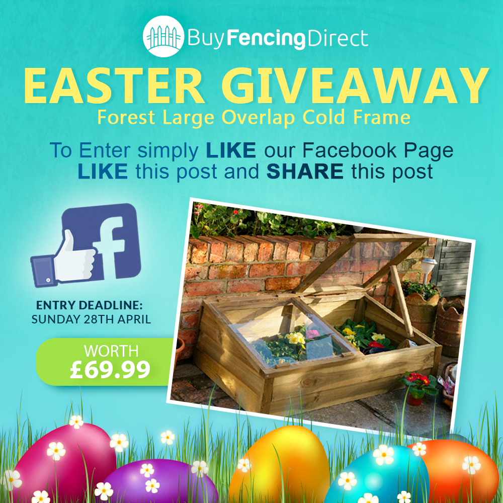 Forest Overlap Cold Frame Easter Giveaway
