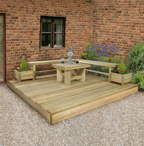 Top 10 Ideas for Garden Decking