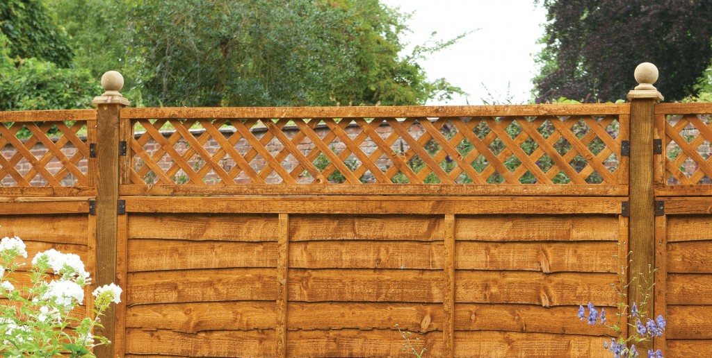 How to attach trellis to a fence
