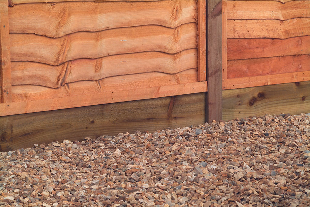 How to fit gravel boards