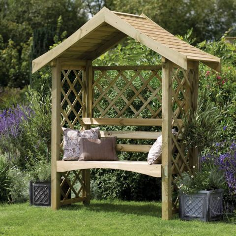 Adding Arbours, Pergolas and Gazebos to Your Garden