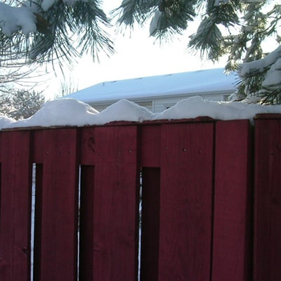 Fence Care Guide for Winter