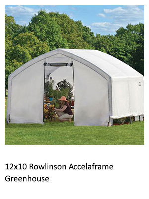 12x10 Rowlinson Accelaframe Greenhouse