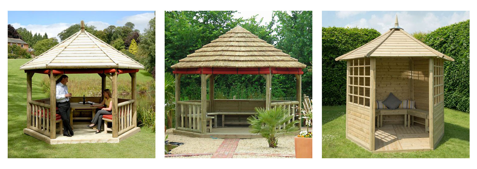 Gazebos from Buy Fencing Direct