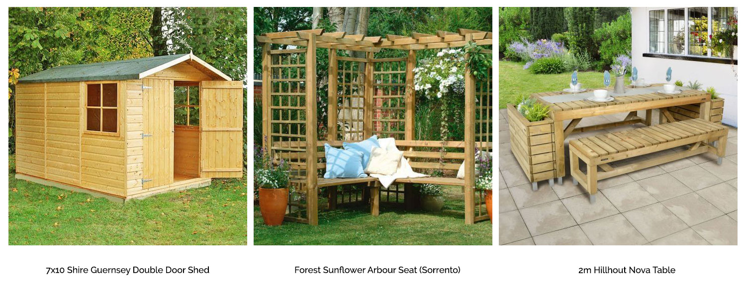 Buy Fencing Direct supplies all of your garden requirements