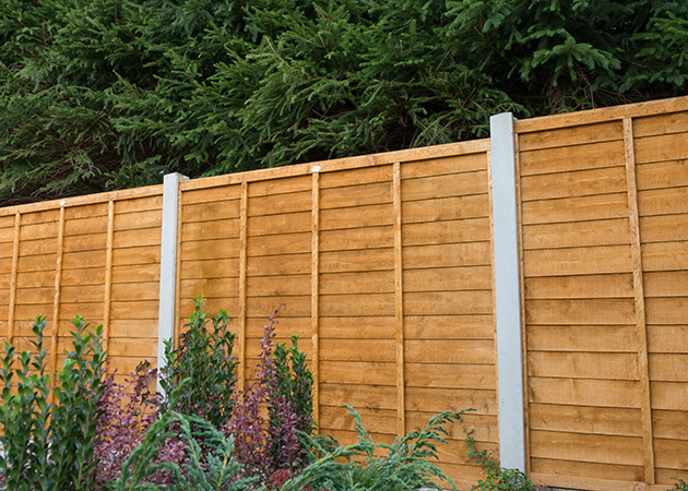 Forest Pressure Treated Lap Panel 1.83m x 1.2m 6ftx4ft