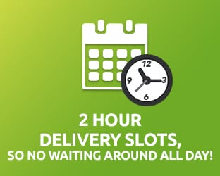 2 hour delivery slots available