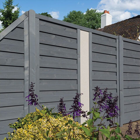 Horizontal Fence Panels