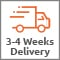 3 - 4 Weeks Delivery