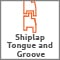 Shiplap Tongue and Groove Construction