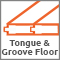 Tongue and Groove Floor
